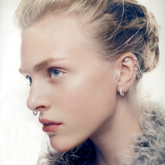 Hedvig Palm in British Vogue Jan '13
