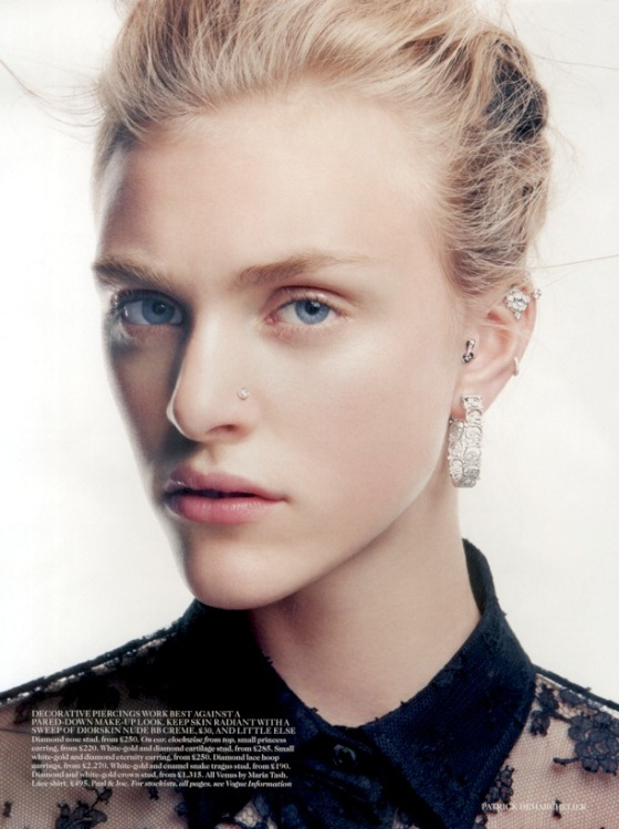 Hedvig Palm in Vogue Jan'13