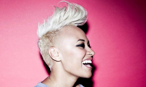 Singer of the moment Emeli Sande with her nose ring