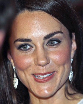 Kate rocks the naturally full brow
