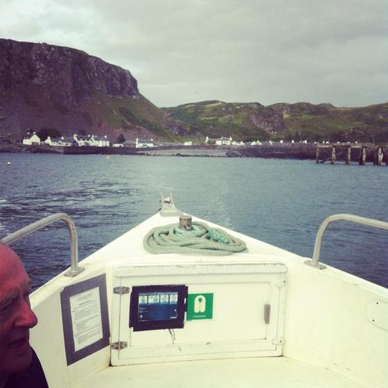 The trip to Easdale